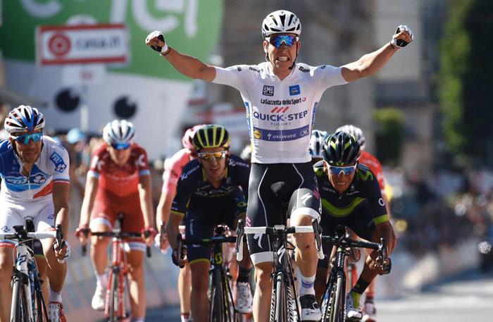Jungels vittoria Giro